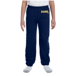 Navy Youth Fleece Pants Left