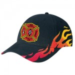Flame Constructed Contour Hat