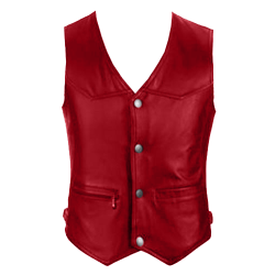 Men's Business Casual Leather Vest