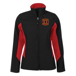 Coal Harbour Colour Block Soft Shell Jacket - Ladies