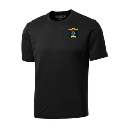 Black Men's Short Sleeve Performance Shirt