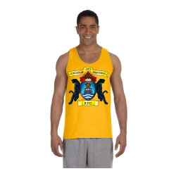 Gold Unisex Ultra Cotton Tank Center