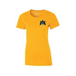 Gold Ladies Eurospun T-Shirt