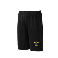 Black Adult Team Athletic Shorts