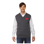 grey pullover vest